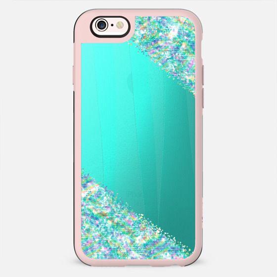 Mint Sparkle Metallic - Shimmering Rainbow - New Standard Case