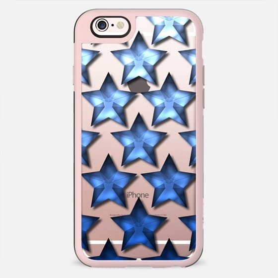 Star Ombre in Blue - New Standard Case
