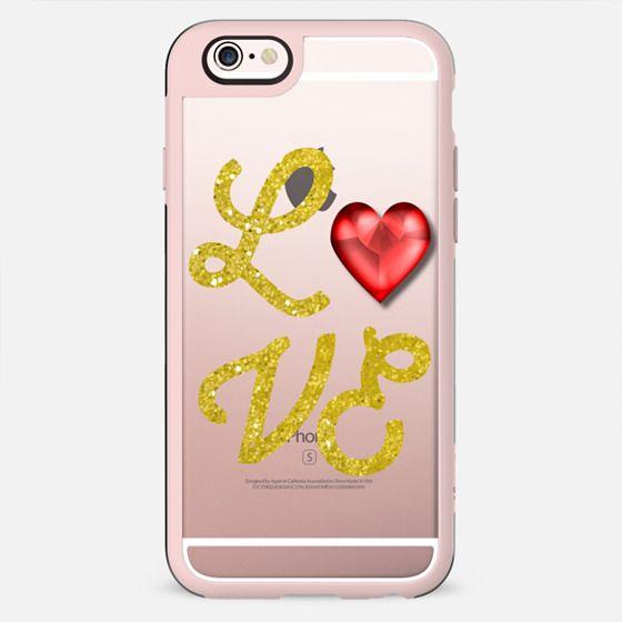 Love Heart Red - New Standard Case
