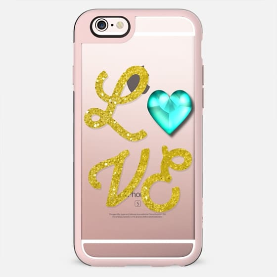 Love Heart Turquoise - New Standard Case