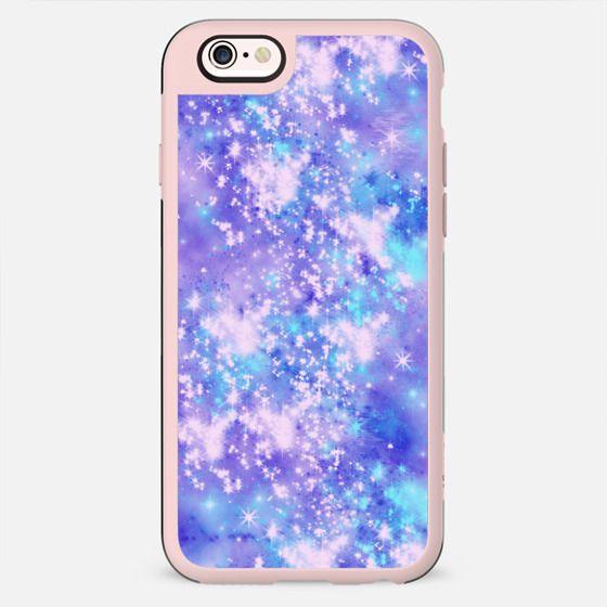 Dream A Little Dream - Purple Stars Space Galaxy Sky - New Standard Case