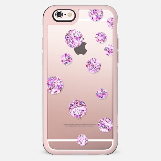 Circles - Pink Crystal - New Standard Case