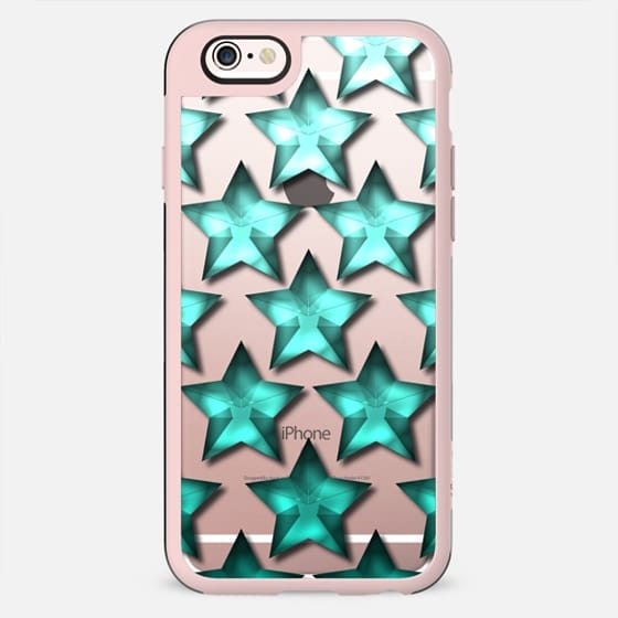 Star Ombre in Teal - New Standard Case