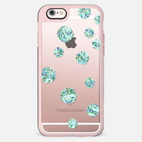 Circles - Mint Crystal - New Standard Case
