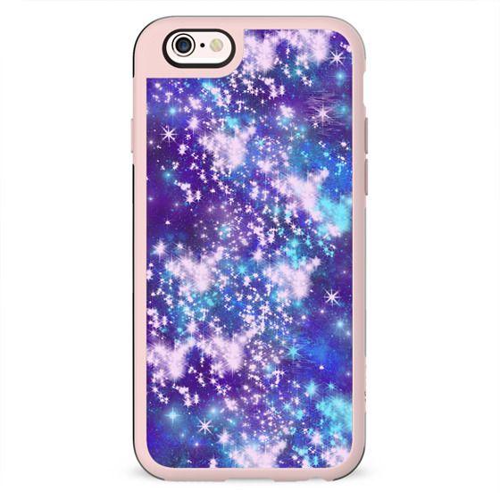 Purple Sky - Stars Space Galaxy