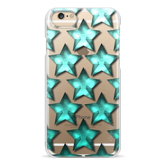 iPhone 6s Cases - Star Ombre in Teal