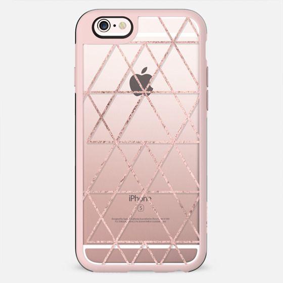 Love Triangle in Rose Gold  - New Standard Case