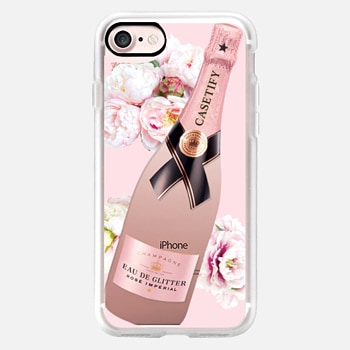 iPhone Case -  Casetify de Chandon Rose Imperial Glitter Champagne