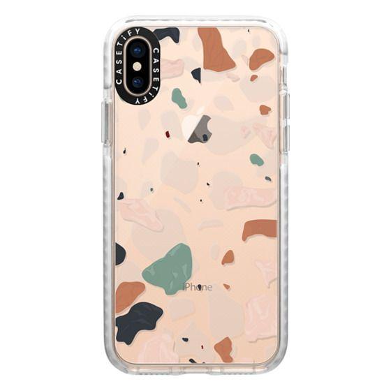iPhone XS Cases - Terrazzo
