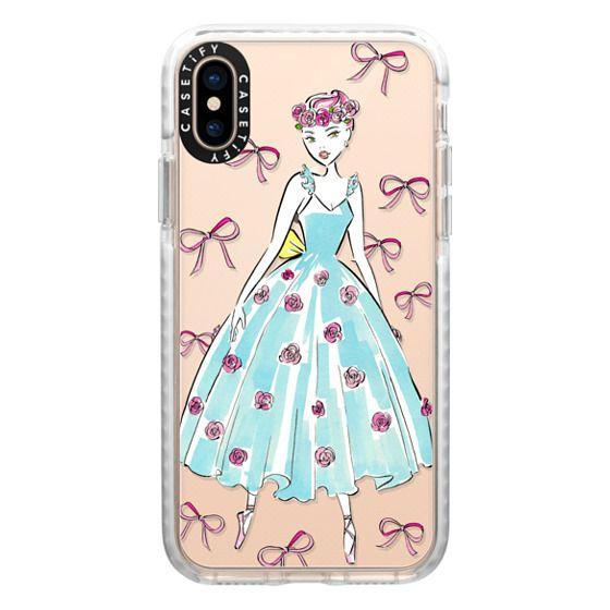 iPhone XS Cases - Ballerina