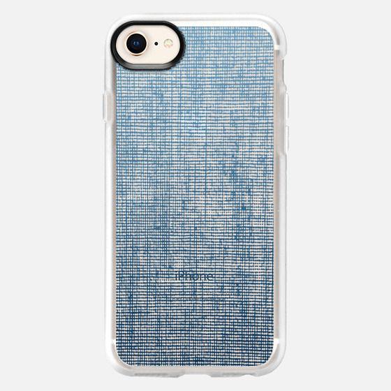 Vintage Denim Blue - Snap Case