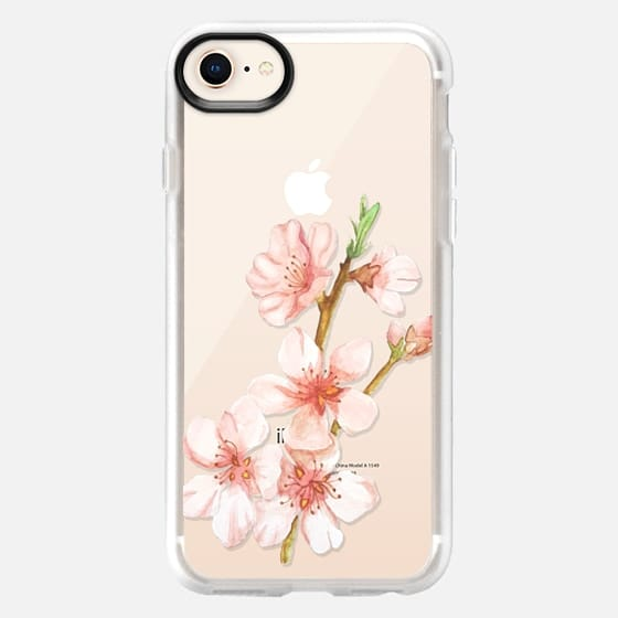 Sakura Watercolour - Snap Case