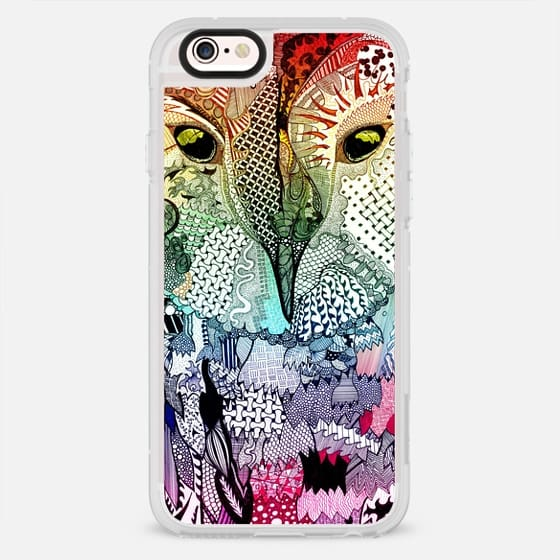 Wise Owl - Rainbow  - New Standard Case