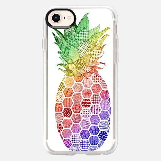Rainbow Pineapple - Snap Case