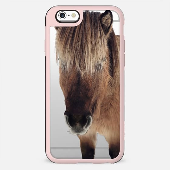 Iceland horse clear - New Standard Case