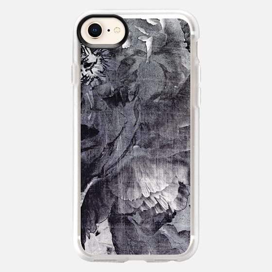 violet goth peony - Snap Case