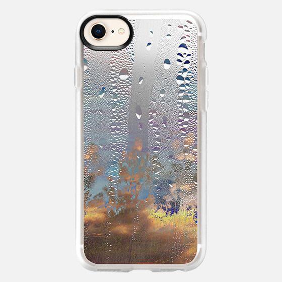 Rain Drops on the window - Snap Case