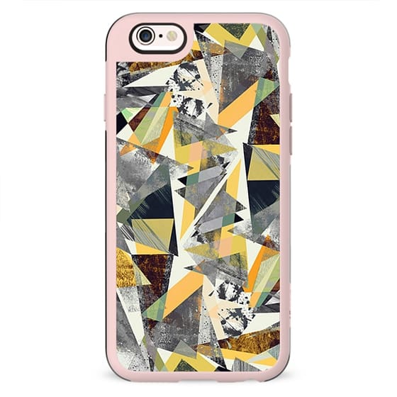 Yellow Splatter Triangles