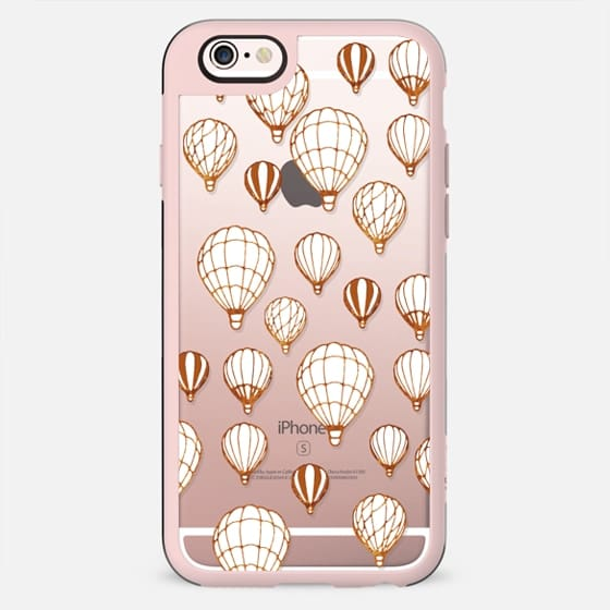 air balloons on black - New Standard Case
