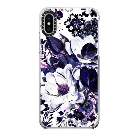 iPhone 6s Cases - Ink painted elegant flowers