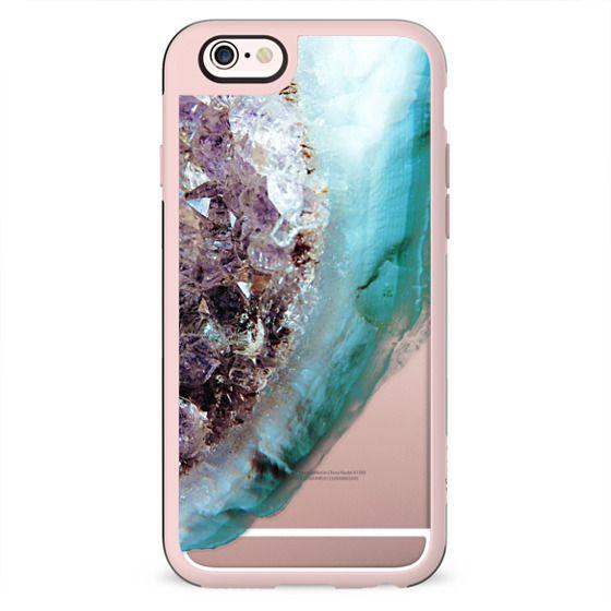 faded crystal amethyst clear