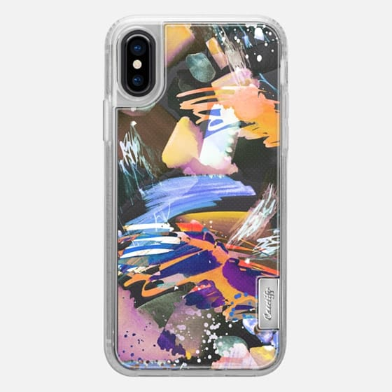iPhone X Case - Watercolor painting