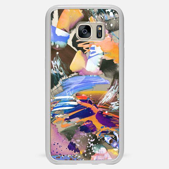 Galaxy S7 Edge Capa - Watercolor painting