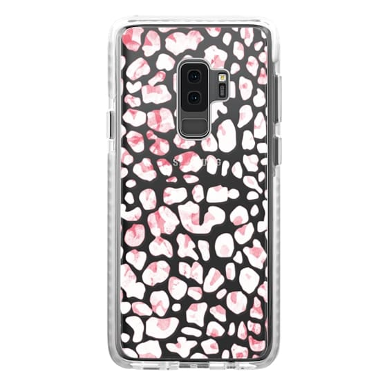 iPhone 6s Cases - White pink animal print leopard
