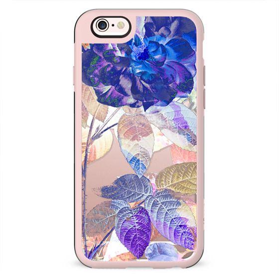 X-ray blue purple rose