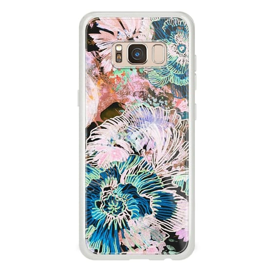 iPhone 6s Cases - Brushed painted flowers