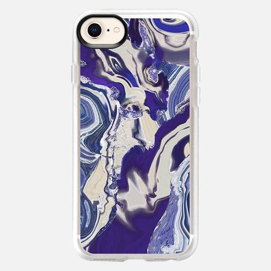 Liquid agate - Snap Case