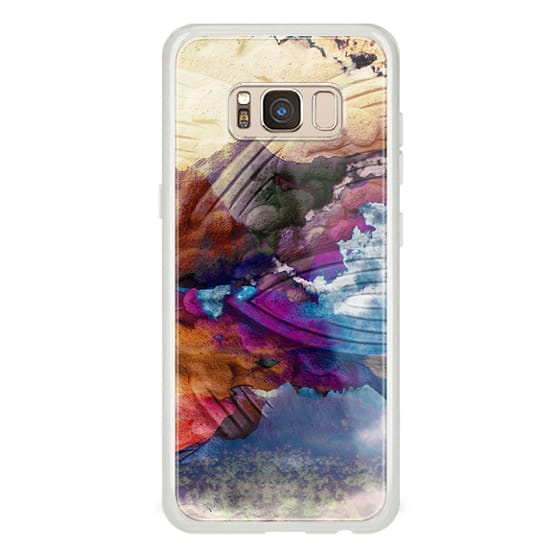 iPhone 6s Cases - Mountains and colorful clouds graphic art