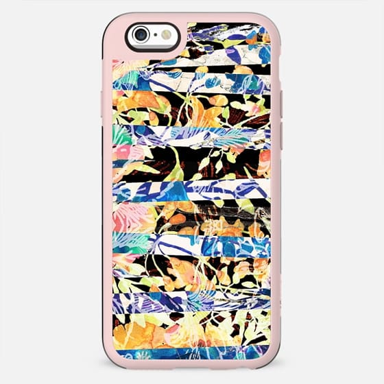 Stylised floral stripes - New Standard Case