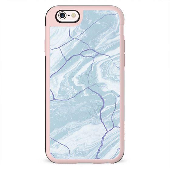 Minimal baby blue marble 2