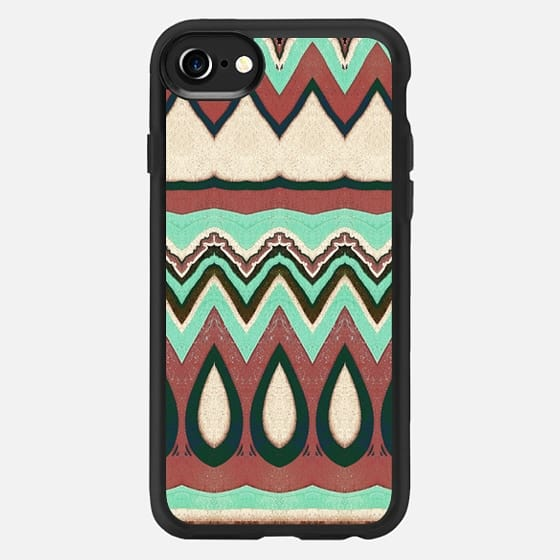 african tribal pattern - Classic Grip Case