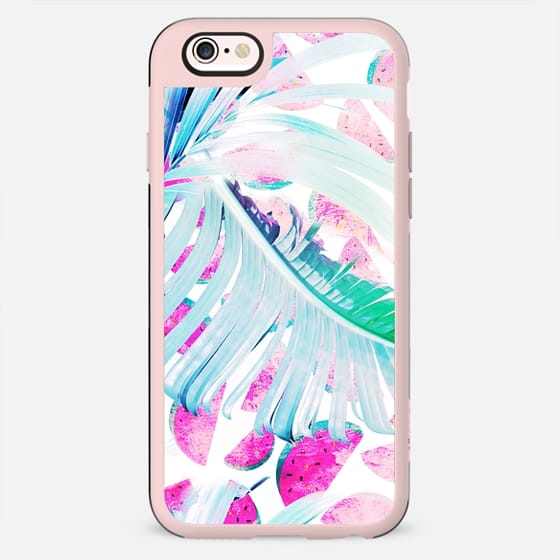 Watermelon and palm leaves - New Standard Case