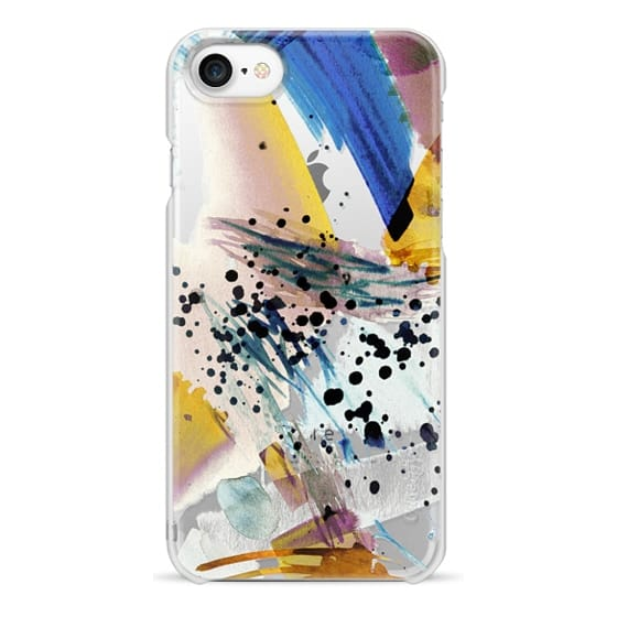 iPhone 7 Case - Colourful watercolor paint