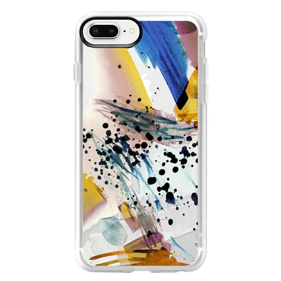 iPhone 8 Plus Case - Colourful watercolor paint