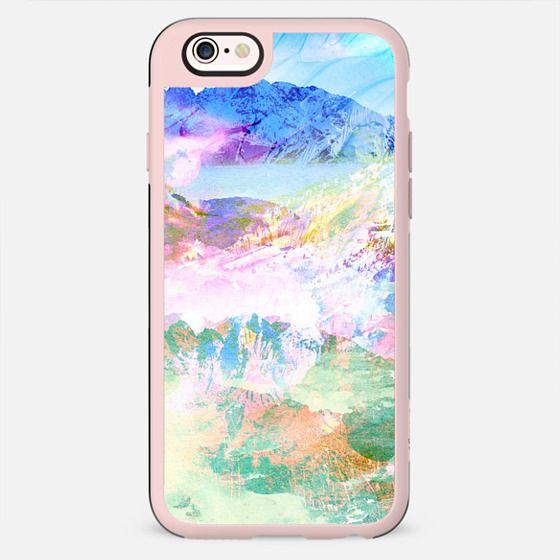 Colourful watercolour landscape - New Standard Case