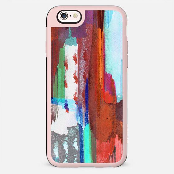 Colourful brushstrokes - New Standard Case
