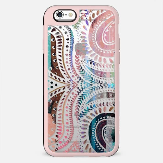 Pastel painted paisley II - New Standard Case