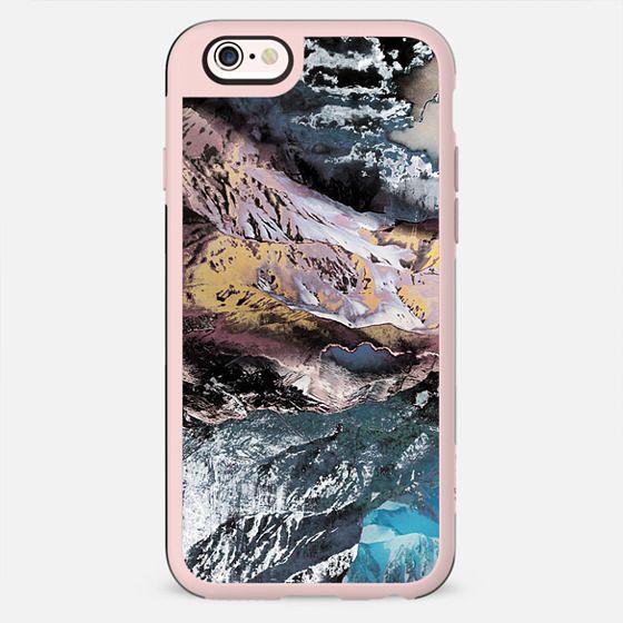 Rock texture close-up mountain landscape - New Standard Case