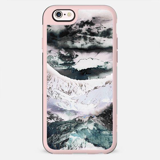 Pastel painted mountain landscape - New Standard Case