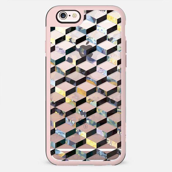Painted geometric 3D pattern