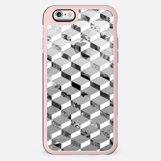 Black and white 3d pattern