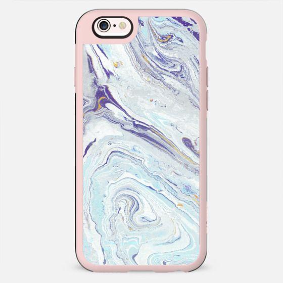 Pastel blue-purple marble - New Standard Case