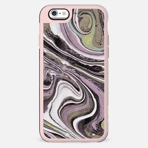 Pink beige marble lines - New Standard Case