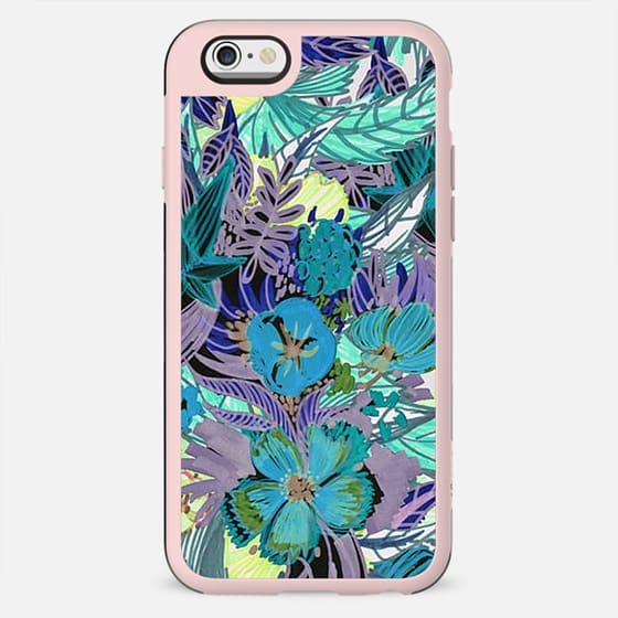 Hand drawn colourful flowers II - New Standard Case
