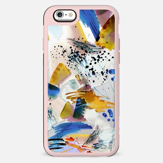 Paint splatter clear case - New Standard Case