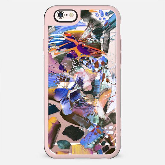 Colourful paint splatter transparent - New Standard Case